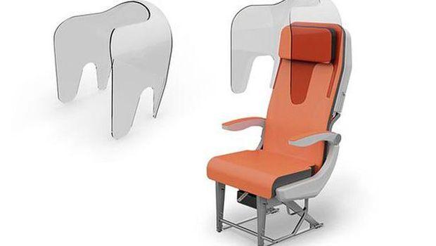 Desain kursi pesawat baru usai Corona