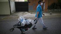 Warga Caracas Kesulitan Air Bersih