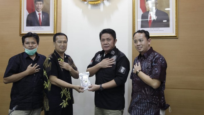 Profesor asal Palembang klaim temukan antivirus corona (dok. Istimewa)