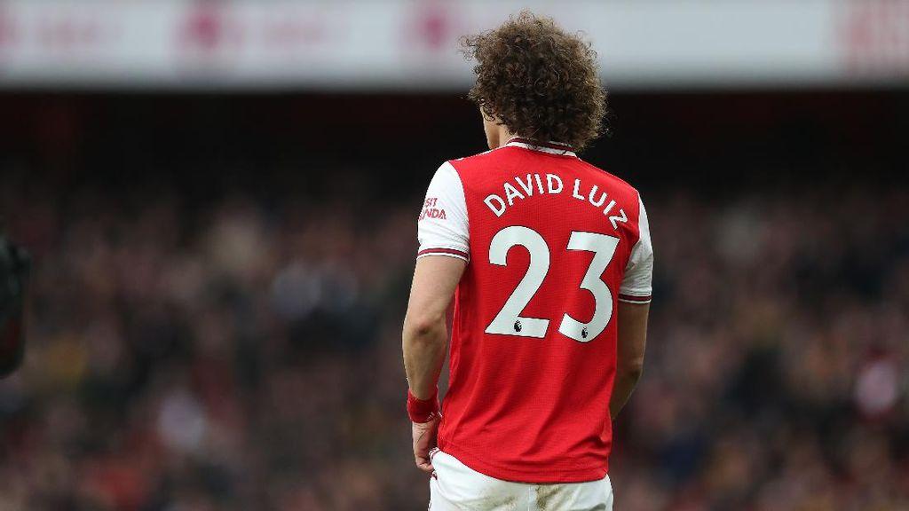 David Luiz Kembali Beri Sinyal Kuat Tinggalkan Arsenal