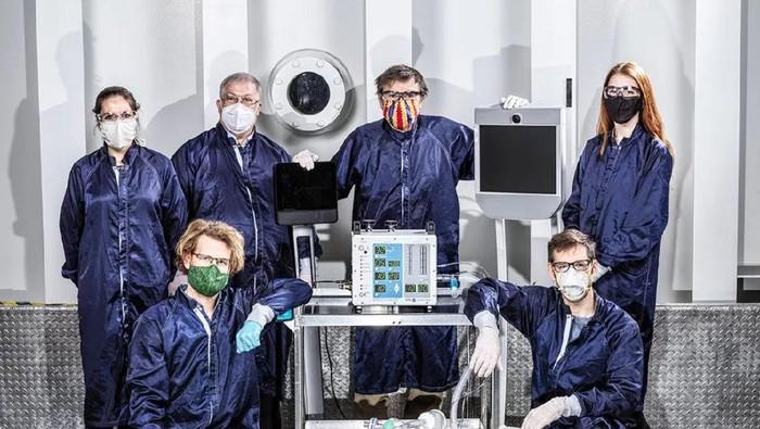 NASA kembangkan ventilator, alat kesehatan untuk bantu sembuhkan pasien COVID-19.