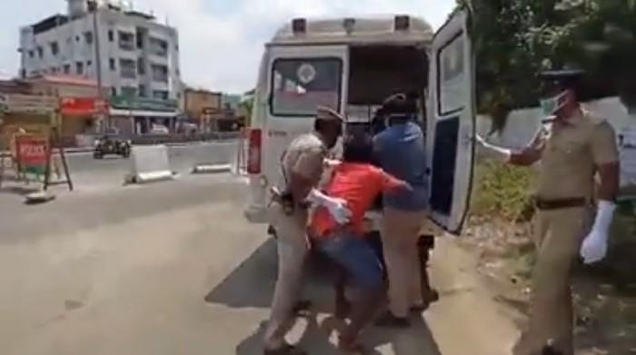 Video Viral Polisi India Kampanye Anti Corona