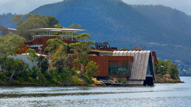 Mona Museum of Old and New Art di Hobart Tasmania, Australia.