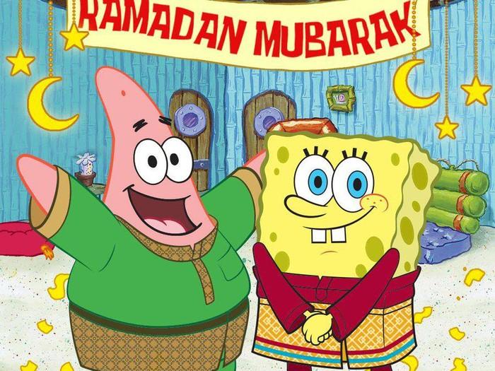 SpongeBob ucapkan Ramadan Mubarak