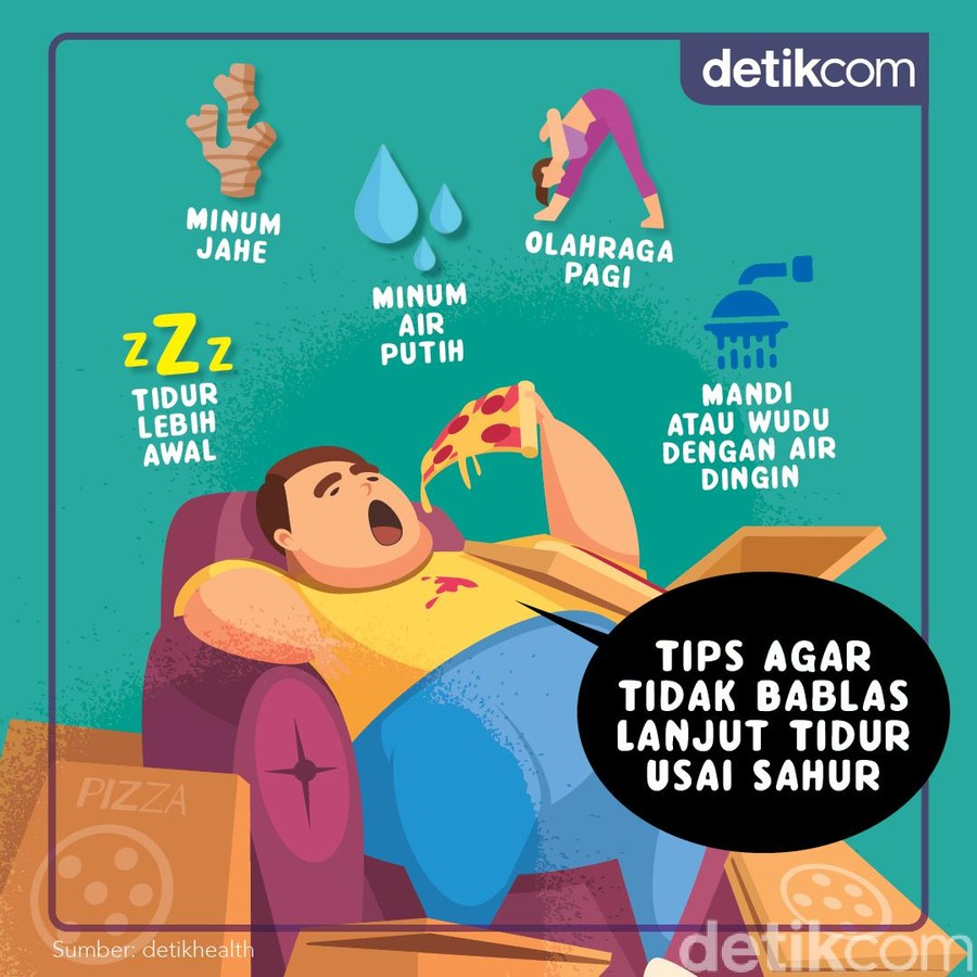 5 Tips Agar Tak Bablas Tidur Sehabis Sahur