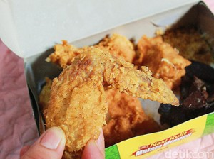 Nasi Kulit Malam Minggu: Kriuk Renyah Kulit Ayam dengan Paru yang Gurih Nagih