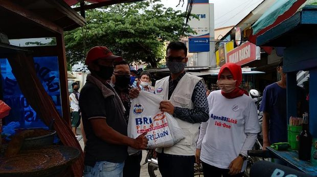 Perangi Corona, Karyawan BRI Salurkan Bantuan Rp 7,2 M