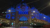 Melbourne Berwarna Biru untuk Kenang Insiden Terburuk yang Tewaskan Polisi