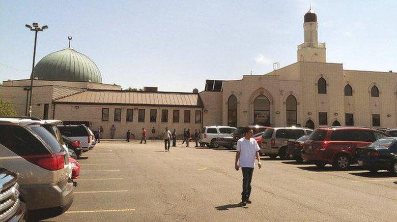 Mosque Foundation di Bridgeview, Illinois, AS.