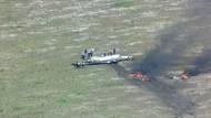 Pesawat Mesin Tunggal Jatuh di Texas, Pilot Dibawa ke RS
