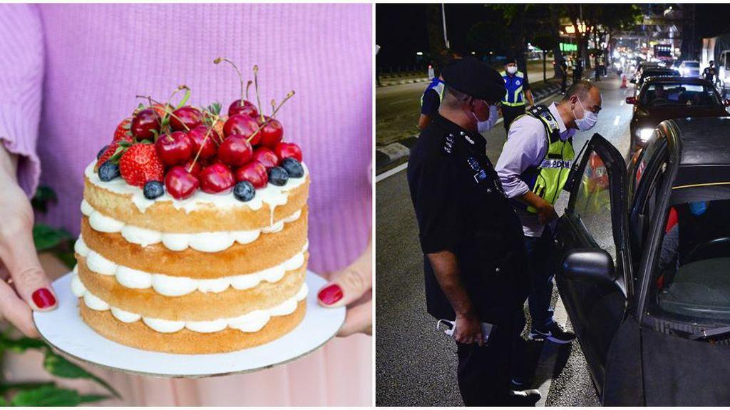 Kirim Kue Untuk Pacar, Wanita Ini Didenda dan Dipenjara