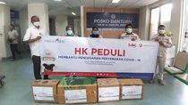 HK Salurkan Ribuan Masker dan APD dari Jakarta hingga Sumatera