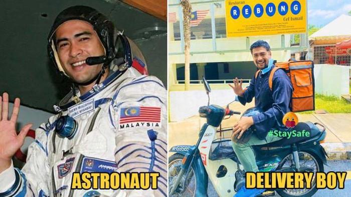 Astronot jadi kurir makanan