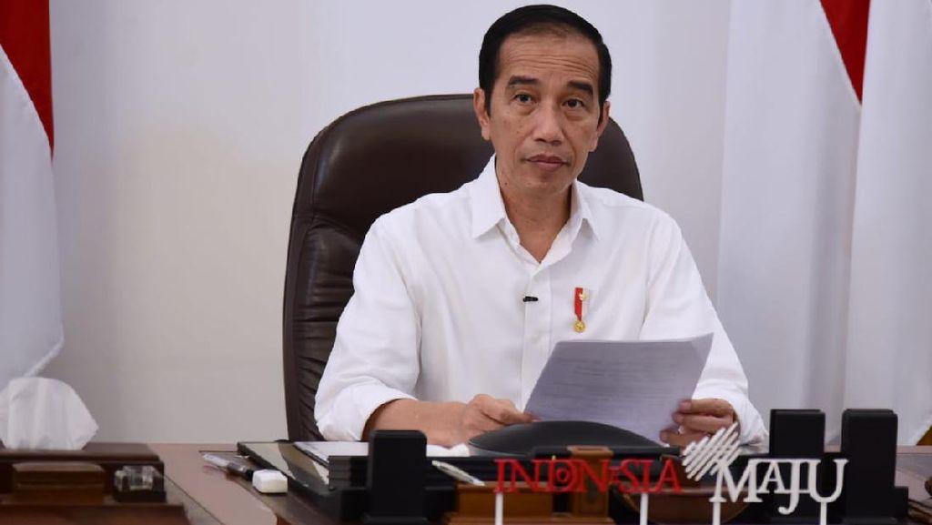 Jokowi Minta Gugus Tugas-Kementerian Dukung Penuh Penanganan Corona di Jatim
