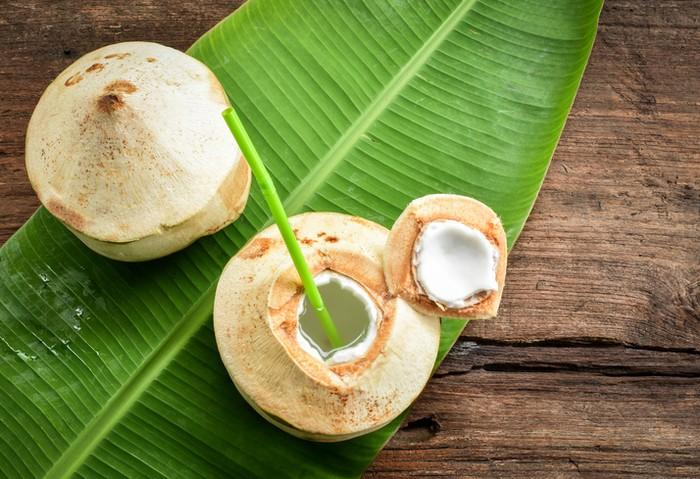 Tips pilih kelapa muda