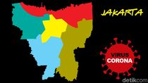 Pecah Rekor Lagi! Kasus Baru Corona di Jakarta Tambah 658