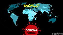 Kasus Kematian Corona RI Lampaui China Hari Ini