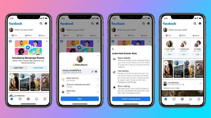 Facebook umumkan fitur terbaru untuk saingin layanan video conference Zoom yang sedang naik daun saat ini.