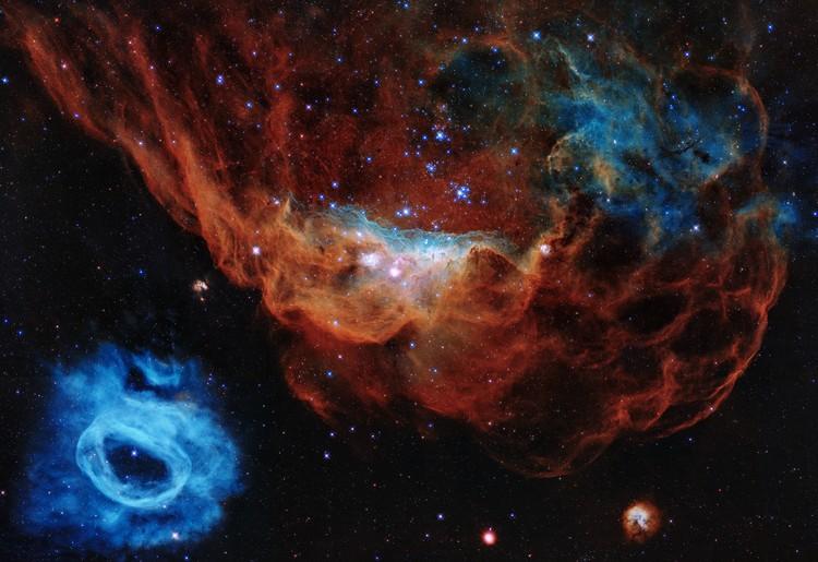 Cosmic Reef teleskop Hubble