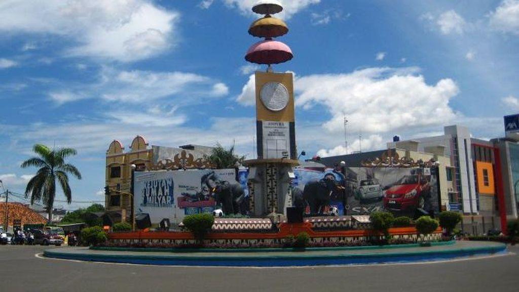 Meski Zona Hijau Corona, Penjagaan di Perbatasan Bandar Lampung Diperketat