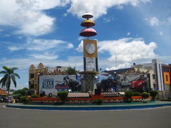 Tugu Gajah Kota Bandar Lampung