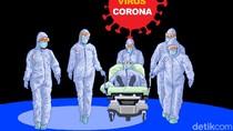 Rumah Keluarga Pasien Corona Pertama di Cilegon Disemprot Disinfektan