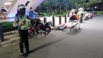 Kecelakaan di Kolong Semanggi, Seorang Pemotor Tewas