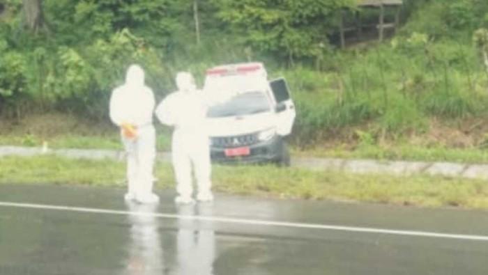 Ambulans Bawa Pasien Positif Corona di Aceh Alami Kecelakaan.