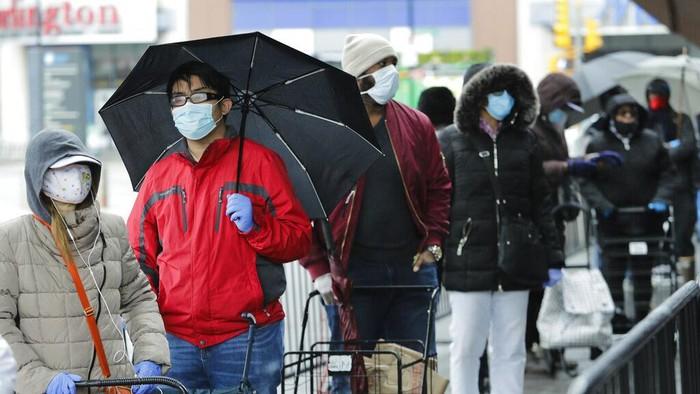 Virus Corona telah menewaskan hampir 50 ribu orang di AS. Dalam sehari, angka kematian baru pasien Corona (COVID-19) mencapai 3.176 orang.