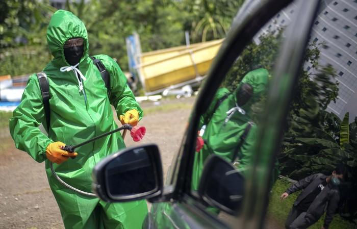Bagian ini upaya untuk memastikan mitra pengemudi (driver) aplikator karya anak bangsa itu semakin aman di tengah pandemi Covid-19.