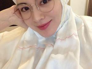 Lebaran di Korea, Selebgram Hijab Ayana Moon Tetap Kerja