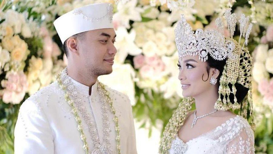 Foto pernikahan Zaskia Gotik (dok. Nagaswara)