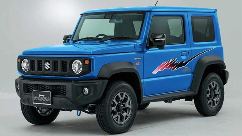 Pilihan grafis klasik Suzuki Jimny