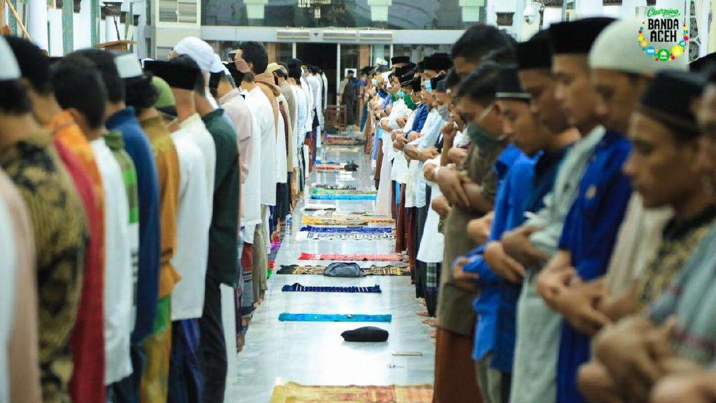 Saat Pandemi, Warga Banda Aceh Tetap Sambut Ramadhan dengan Gembira