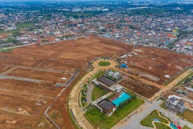 Suasana Aktual Progress Pembangunan CitraGarden Puri Jakarta Barat