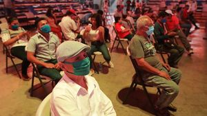 Tetap Digelar, Pertandingan Tinju di Nikaragua Terapkan Social Distancing