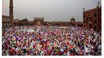 Potret Sunyi Sepi Masjid Terbesar di India Saat Ramadhan