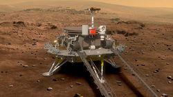 China Akan Luncurkan Misi ke Mars di Bulan Juli