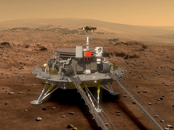 misi China ke Mars