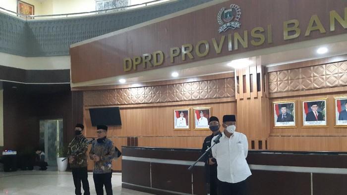 Gubernur Banten & DPRD bahas merger Bank Banten-bank bjb