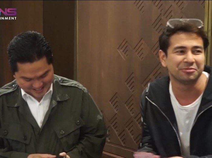 Raffi Ahmad dan Erick Thohir