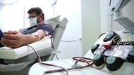 Riza Patria Resmikan Donor Plasma Konvalesen Pertama di DKI