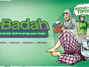 Sontek 5 Tips Jalani Ibadah Ramadhan Selama di Rumah Ala Gojek