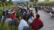 Puluhan Pemuda Ikut Balap Liar di Tengah Pandemi Dibubarkan