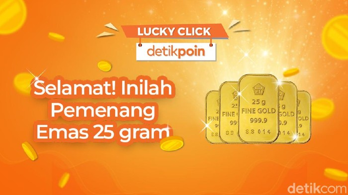 Lucky click detikPoin