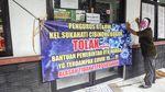 Aksi Unjuk Rasa Terkait Bansos COVID-19 di Bogor