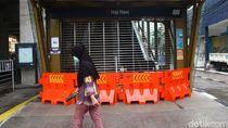 Stasiun MRT Haji Nawi Tutup untuk Cegah Corona