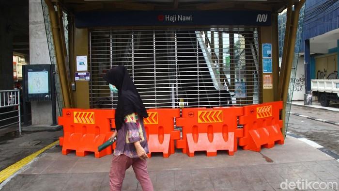 PSBB DKI Jakarta diperpanjang hingga 22 Mei 2020 mendatang. PT MRT Jakarta pun memutuskan untuk menutup operasional stasiun Haji Nawi.