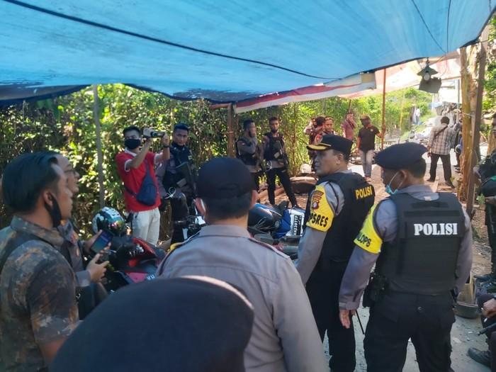 Denah kampung narkoba di Kalteng yang digerebek Polresta Palangka Raya (dok. Istimewa)