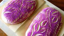 Keren! Roti Sourdough Ini Dihias dengan Pola Artistik